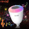 Revogi E27 Smart WiFi Speaker LED Ampoule - RGB