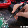 TS100 65W Digital OLED Programmable Soldering Iron - TS-B2 BLACK