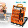 JAKEMY JM-8101 33 in 1 Screwdriver Kit Repair Tool - COLORMIX