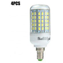 4 x YouOKLight E14 SMD 5730 18W 2000Lm LED Corn Light