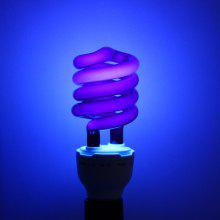 E27 36W Spiral Energy Saving Black Light Lamp