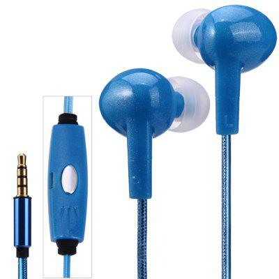 AT-618 LED Visible EL Flowing Light Earphones