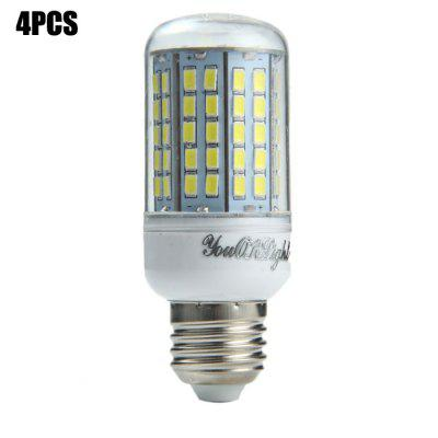 4 x YouOKLight E27 SMD 5730 18W 2000Lm LED Corn Light
