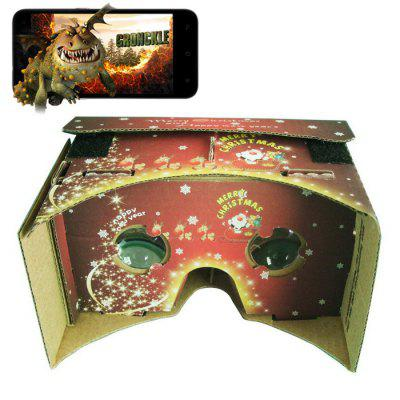 Christmas Cardboard VR V1.0 3D Virtual Glasses