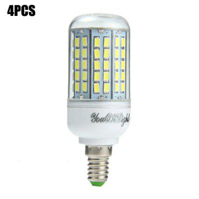 4PCS YouOKLight E14 SMD 5730 2000Lm 18W LED Corn Light Bulb
