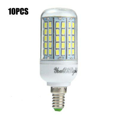 10PCS YouOKLight E14 SMD 5730 2000Lm 18W LED Corn Light Bulb