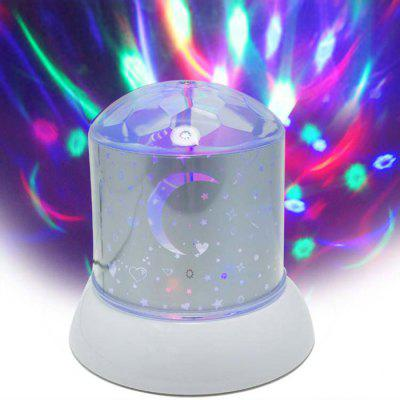 Rotating LED Star Master Galaxy Projector Lamp