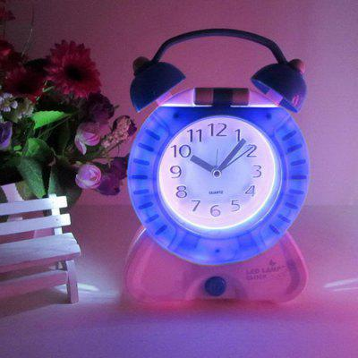 Rechargeable Clock Style LED Table Lamp
