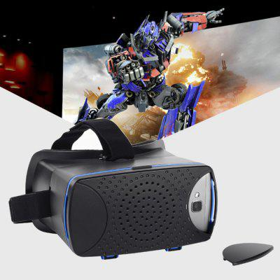 3D VR Glasses with Magnetic Sensor for 4.5 - 6.0 inches Smartphone
