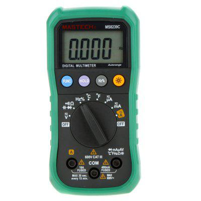 MASTECH MS8239C 4000 Counts Auto - Range Digital Multimeter DMM 4 - Digit LCD Display