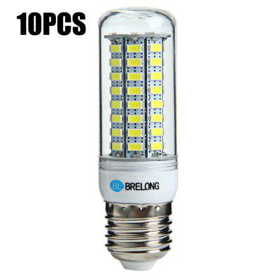 10 x BRELONG E27 SMD 5730 12W 1200Lm LED Corn Light