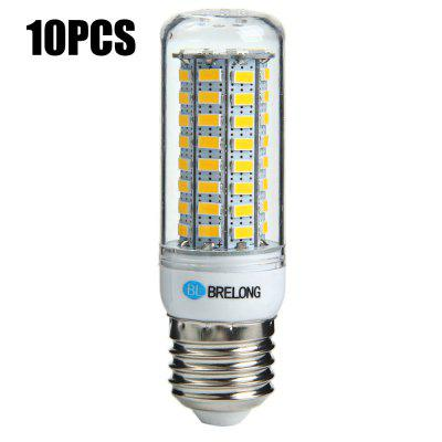 10 x BRELONG E27 12W 1200Lm SMD 5730 LED Corn Light