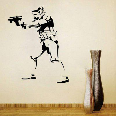 w-27 Stormtrooper Style Wall Sticker