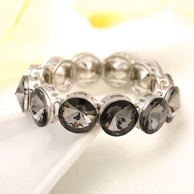 Stunning Rhinestoned Hollow Out Bracelet For Women