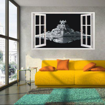 Airship Style Removable 3D Wall Sticker