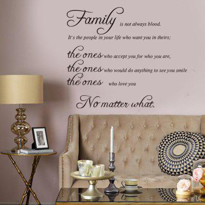 Alphabet Removable Wall Stickers for Living Room