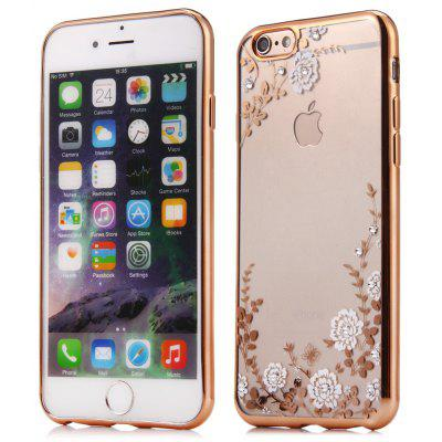 Flower Pattern Protective Back Case for iPhone 6 / 6S