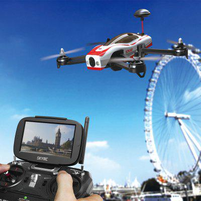 SKYRC SOKAR FPV 5.8GHz FPV 2.4GHz 4CH 6 Axis Gyro 0.3MP Camera with 4.3 inch FPV Monitor  Quadcopter