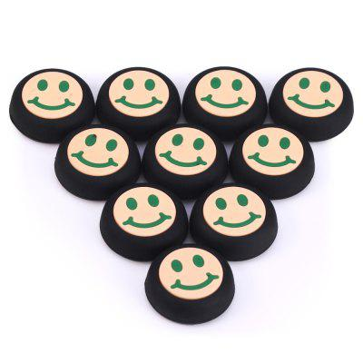 10PCS Plastic Gamepad Thumb Grips Joystick Cover