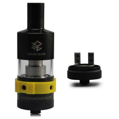 Original Steam Crave Aromamizer RDTA Atomizer Dual Posts Version