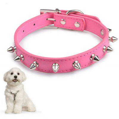 Practical 8 Rivet Adjustable Dog Collar