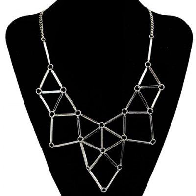 Triangle Hollow Out Necklace