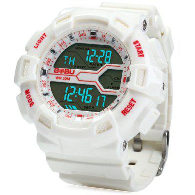 Gobu 1584 Men LED Sports Watch
