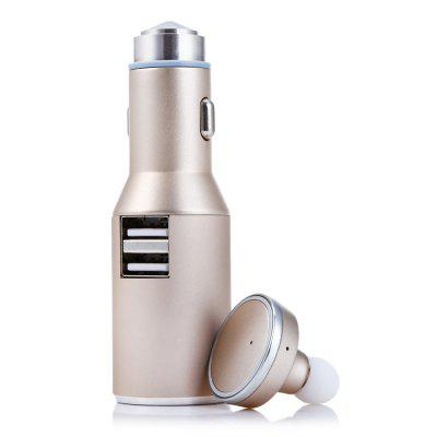 2 in 1 Q600 Wireless Bluetooth Headset with Car Charger
