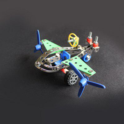 MAIGAO 3D Surveillance Aircraft Alloy / Plastic Intelligent Model Puzzle DIY Toy Collection