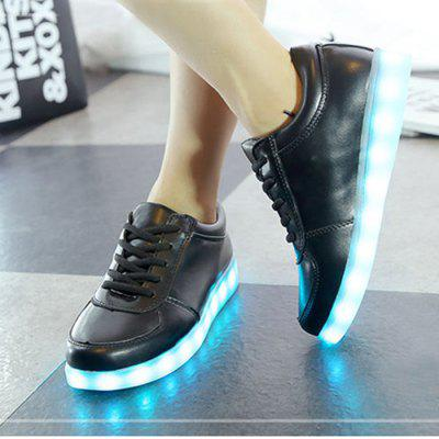Unisex LED Shoes USB Charging