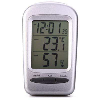 QF665 5 in 1 Digital Temperature Humidity Meter / Calendar / Clock / Alarm