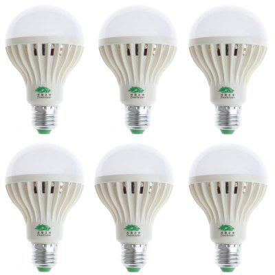 6PCS Zweihnder E27 9W SMD 3528 900Lm LED Bulb Light