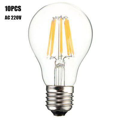 10PCS BRELONG 8W E27 800LM COB LED Edison Bulb