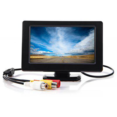 4.3 Inch Rear View Monitor with LCD Hood