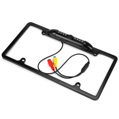 USA Car License Plate Rear View Camera