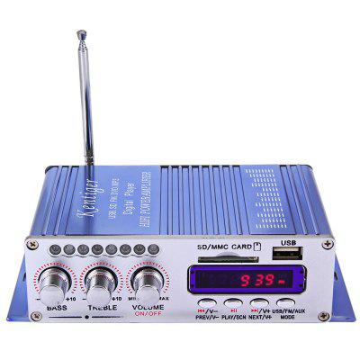HY - 502 Hi-Fi LED Car Stereo Amplifier
