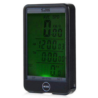 SD - 576A Auto Light Mode Touch Bike Computer Odometer