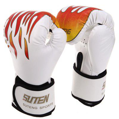 Suten 1 Pair PU Leather Boxing Gloves