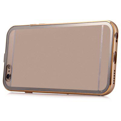 Metal Frame Transparent Back Cover Case for iPhone 6 6s