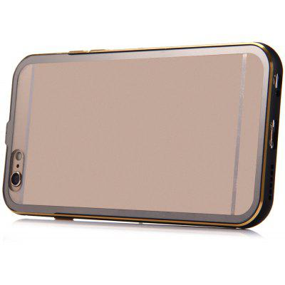 Metal Frame Transparent Back Cover Case for iPhone 6 Plus 6s Plus