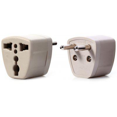 Universal Socket to EU Plug Adapter Home Wall Charger