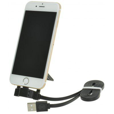 Hat-Prince 1m 8 Pin Data Sync Charge Cable with Charging Stand