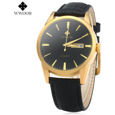 WWOOR 8801 Quartz Watch for Men