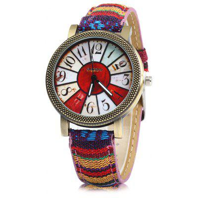 SONSDO 6838 Ethnic Style Lady Quartz Watch