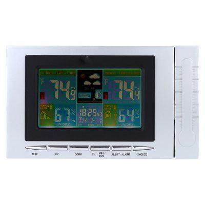 TS-H127G 433MHz Wireless Barometer / Thermometer Hygrometer with Colorful LCD Display