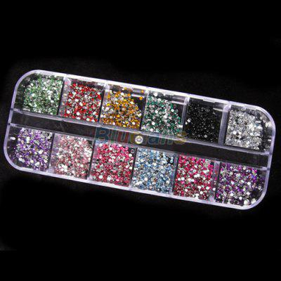 3000pcs 2mm Round Rhinstones 12 Colors Hard Case Nail Art TipsNail Art Accessories<br>3000pcs 2mm Round Rhinstones 12 Colors Hard Case Nail Art Tips<br><br>Color: Multi-color<br>Features: Easy to Carry, Environment Friendly, Lightweight<br>Package Contents: 1 x Round Rhinestones Nail Art Tips(12 Colors)<br>Package size (L x W x H): 13.00 x 5.00 x 15.00 cm / 5.12 x 1.97 x 5.91 inches<br>Package weight: 0.0600 kg<br>Product size (L x W x H): 10.00 x 3.00 x 7.00 cm / 3.94 x 1.18 x 2.76 inches<br>Product weight: 0.0350 kg<br>Type: Others Brush