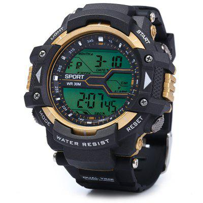 8338G Men LED Sports Watch