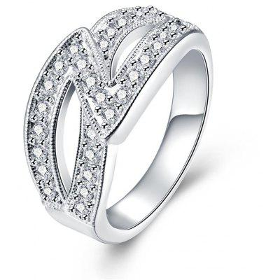 R725 Silver Plated New Design Finger Ring for Lady