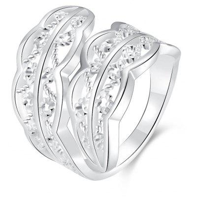 R740 Silver Plated New Design Finger Ring for Lady