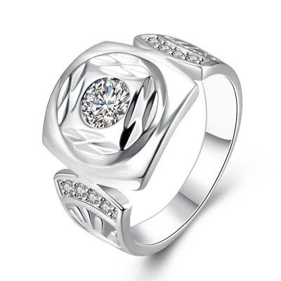 R743 Silver Plated New Design Finger Ring for Lady
